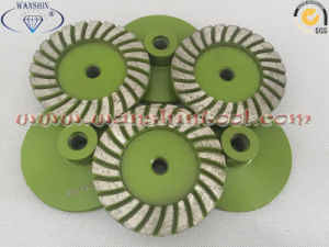 100mm Turbo Diamond Cup Wheel for Granite Sandstone pictures & photos
