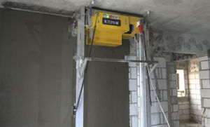 Best Wall Concrete Rendering Plastering Mixer Machine pictures & photos