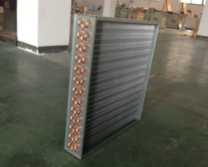 Copper Tube Fin Heat Exchanger Coil for Condenser, Evaporator pictures & photos