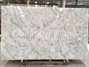 Crystal Alabaster/Snow White/Statuario Altissimo/White Marble Slab
