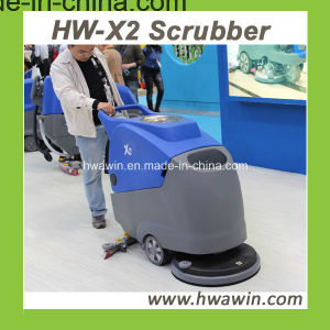 Walk Behind Electric Scrubber (HW-X2) Floor Scrubber pictures & photos