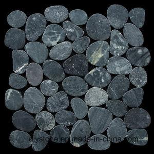 China Black Sliced Stone Tile
