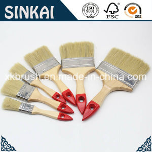 Varnished Wooden Handle Oil Paint Brush Whole Sale pictures & photos