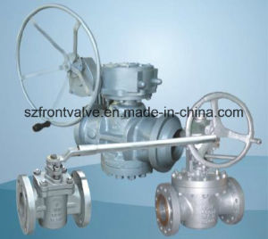 Cast Steel Flanged End Plug Valves pictures & photos