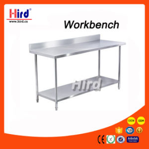Kitchen Table Stainless Steel Workbench Ce Bakery Equipment Bbq Catering Food Machine Hotel Baking