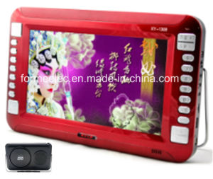 "10.1"" Portable TV Portable DVD Player USB SD Multimedia Player pictures & photos"