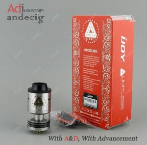 Ijoy Limitless Rdta with Side Filling Genuine Ijoy Limitless Rdta Tank pictures & photos