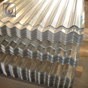 SGCC Grade Zinc Steel Sheet Galvanized Corrugated Roofing Sheet pictures & photos