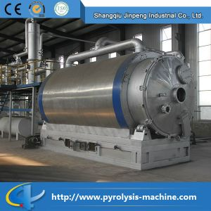 China latest Best Design Waste Tyre Pyrolysis Oil Generator