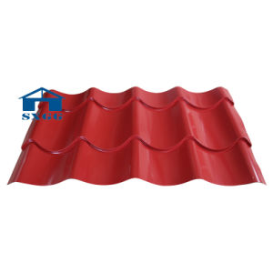 Corrugated Color Steel Roofing Sheets pictures & photos
