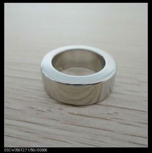 N48 Big Size Zinc Coating Ring Neodymium Magnet pictures & photos