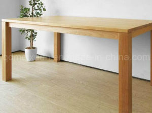 Solid Wooden Dining Table Living Room Furniture (M-X2883) pictures & photos