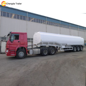 Tri Axle 42000liter Fuel Diesel Tanker Trailer pictures & photos