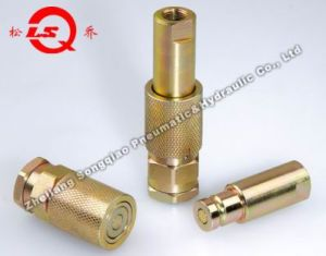 Lsq-Ptr Flat Face Type Hydraulic Quick Coupling (steel) pictures & photos