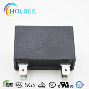 Black Box Metallized Polypropylene Fan Capacitor (Cbb61 155j/450VAC) with 4 Pins High Voltage for Start Motor Run Fan Motors RoHS Reach (ALL CBB61 Series)