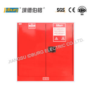 Lab Stainless Steel Combustible Liquids Safety Cabinet Justrite Type (CLR3000)