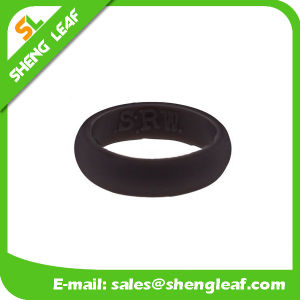 Personalized Fashion Advertising Colorful Silicone Finger Rings (SLF-SR018)