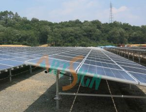 Solar Terrace Mounting System-Ground Screw Ground pictures & photos