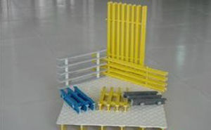 Fiberglass Pultruded Gratings, FRP/GRP Pultrusion Grating pictures & photos