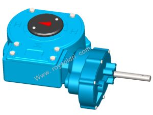 Rhw55pd6 Part Turn Worm Gearbox for Valve pictures & photos