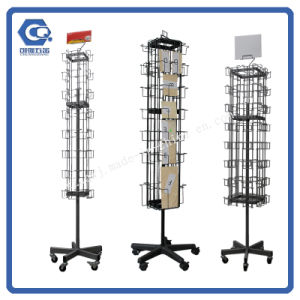 China metal floor wire rotation greeting card display racks for sale metal floor wire rotation greeting card display racks for sale m4hsunfo