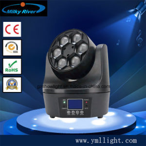 6PCS*10W LED Beam RGBW 4-in-1 Moving Head Light