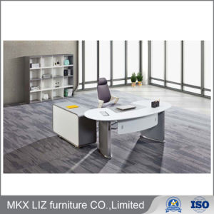 Modern Stylish Office Furniture Executive Computer Desk in White Color  (9973)
