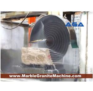 Máquina de Corte do Bloco da Pedra Multi-Blades com granito/Cortador de mármore (DQ2200/2500/2800)