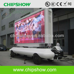 Chipshow Outdoor pleine couleur Chariot Mobile P10 Affichage LED