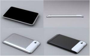 7 Tablette PC-Gt73D (Einbauschlitze des Zollandroid-2.3 des Telefon-Anrufs function+support 2 SIM)