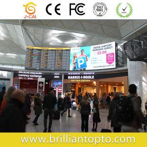 P6 plein écran LED de couleur à l'intérieur des affichages numériques