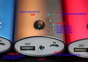 3000mAh-6000mAh de energía móvil portátil Bank (OM-PW027)