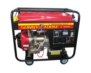 5 квт бензиновый генератор с помощью четырех колес