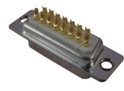 Lötmittel-Typ maschinell bearbeiteter Pin-Mann D-SUB