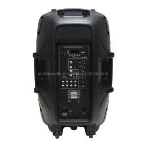 Microphone sans fil VHF 15 haut-parleurs Bluetooth Trolley de karaoké