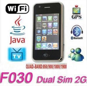 GPS&WiFi TVの携帯電話F030