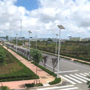 Direto da fábrica por grosso 6m 30W Luz Rua Solar de LED de exterior