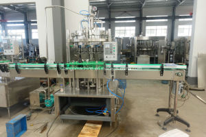 Automatische het Vullen van de Drank van de Frisdranken van het Huisdier Fles Sprankelende Machine