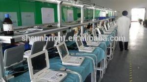 12-дюймовый светодиодный монитор ветеринарных портативный ноутбук УЗИ