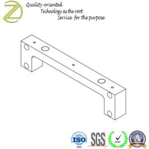 CNC de Brede Staaf van het Frame van het Aluminium 6061-T6 van het Malen