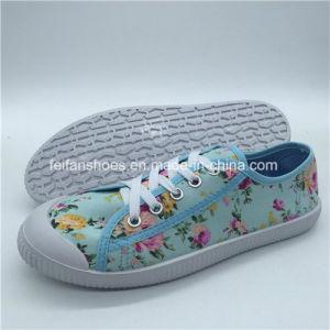 Самые популярные Леди Canvas обувь повседневная обувь с0315-5 Shoelace (л.с.)