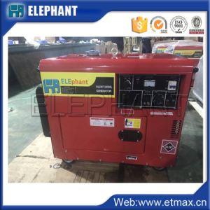 가정용 전기 제품을%s 5kw 6.25kVA 휴대용 디젤 엔진 발전기
