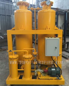 Amarillo oscuro utiliza aceite de transformador de la máquina Decolor