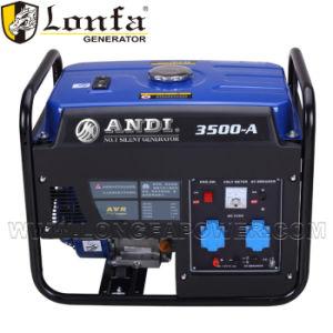 Su uso en casa 3kw Loncin portátil pequeña tipo Generador Gasolina