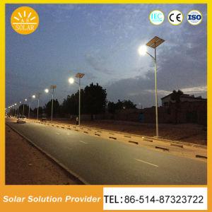 Tipo spaccato illuminazione stradale di alto potere solare chiara solare del LED