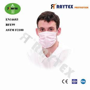 Высочайшее качество 3слойные одноразовые нетканого материала маску для лица 3ply хирургических маску для лица с En14683typeiir стандарт Ce