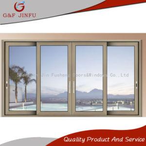 Алюминиевый раздвижной двери салона с балконом в домашних хозяйствах