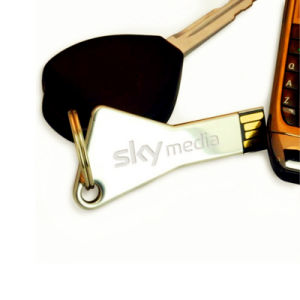Clé en métal promotionnel lecteur Flash USB clé USB (EM621)