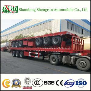 Expandierbarer Flachbett-LKW-halb Hochleistungsschlußteil