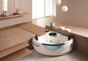 Vasca Da Bagno Esterna : Vasca da bagno esterna romantica di massaggio di figura rotonda m